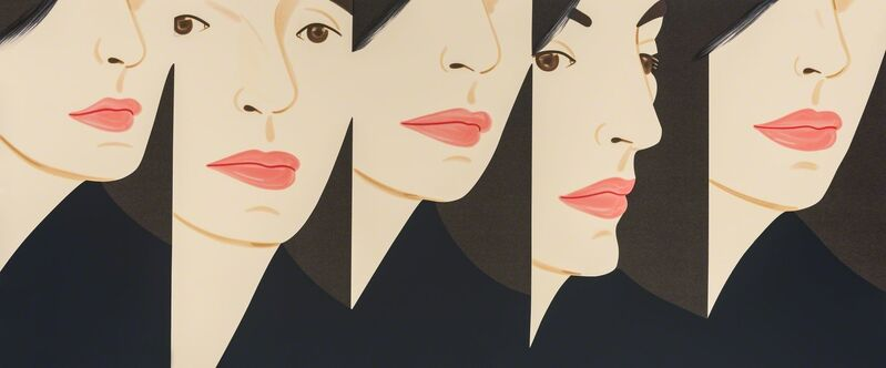 Alex Katz, 'Vivien 5X', 2018, Print, Silkscreen, Vertu Fine Art