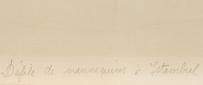 Joan Miró, 'Defile de Mannequins a Istanbul', 1969, Print, Color lithograph on wove paper under Plexiglas, Editions Maeght, Paris, pub., John Moran Auctioneers