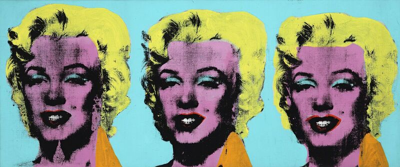 Andy Warhol, 'Three Marilyns ', 1962, Painting, Silkscreen ink, and graphite on linen, National Gallery of Victoria