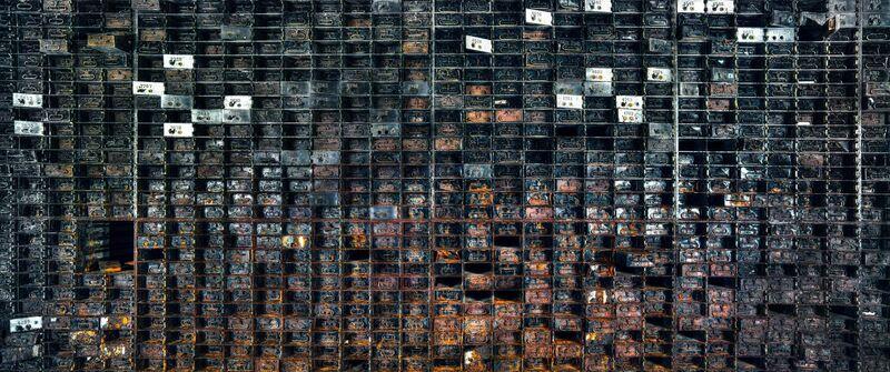 Christian Voigt, 'Vault Interior II, Chicago, USA', 2015, Photography, Light Jet, Exposure on high glossy paper, Alu-Dibond, Lucia Mendoza