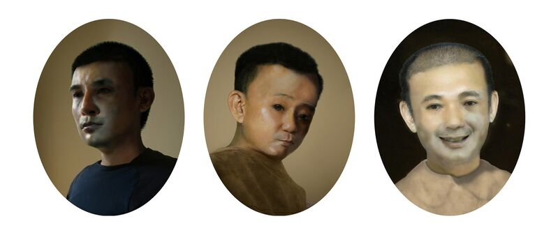 Hoang Duong Cam, 'Father & Son: The Artist Dream', 2014, Photography, Digital c-print, GALERIE QUYNH