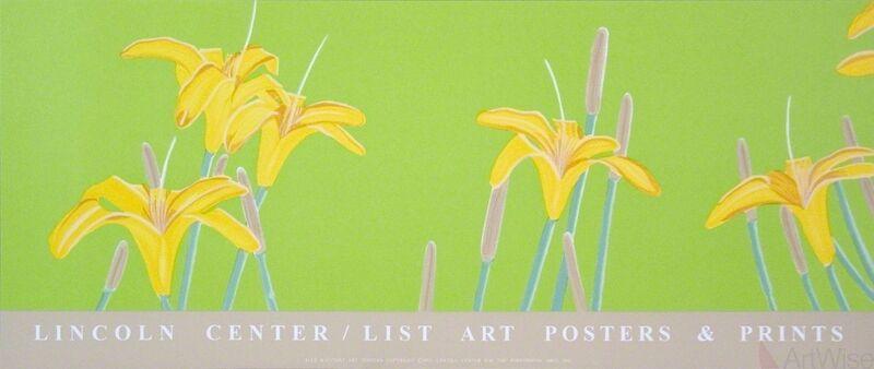 Alex Katz, 'Day Lilies', 1992, Ephemera or Merchandise, Silkscreen, ArtWise