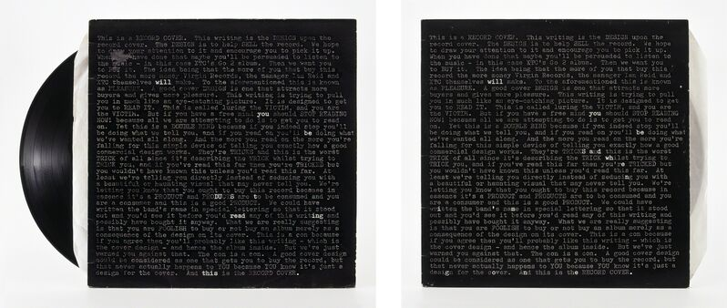 Natalie Czech, 'A poem by Repetition by Robert Creeley', Photography, 2 C-Prints, 2 frames, museum glass, Kadel Willborn