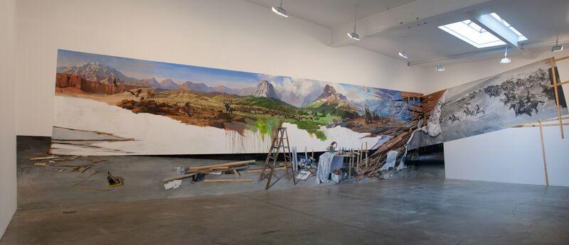 Adam Cvijanovic, 'Discovery of America', 2012, Installation, Flash acrylic on Tyvek, Postmasters Gallery