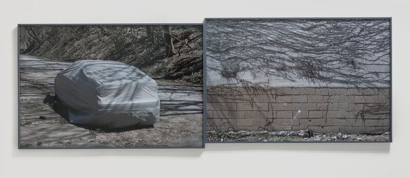 Willie Doherty, 'Dreams of Security, Dreams of Infiltration', 2018, Photography, Diptych, pigment print mounted on Dibond, Kerlin Gallery