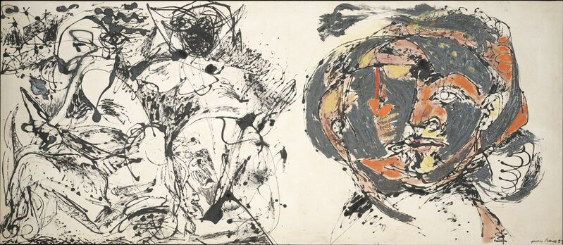 Jackson Pollock, 'Portrait and a Dream', 1953, Painting, Oil and enamel on canvas, Dallas Museum of Art