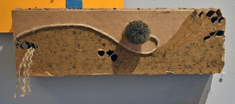 Elisabeth Jacobsen, 'Endangered Species ', 2021, Sculpture, Honeycomb Cardboard, Polyacrylic, Brush, Rope, Carter Burden Gallery