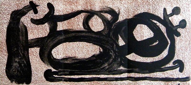 Joan Miró, 'L'oiseau solaire et lunaire. Etincelles', 1967, Print, Original lithograph on paper, Samhart Gallery