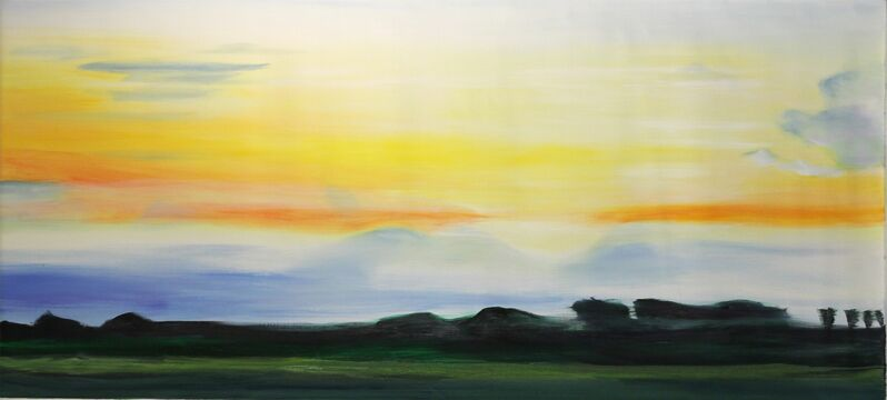 Bettina Mauel, 'Summer Evening', 2015, Painting, Oil on Canvas, Artspace Warehouse