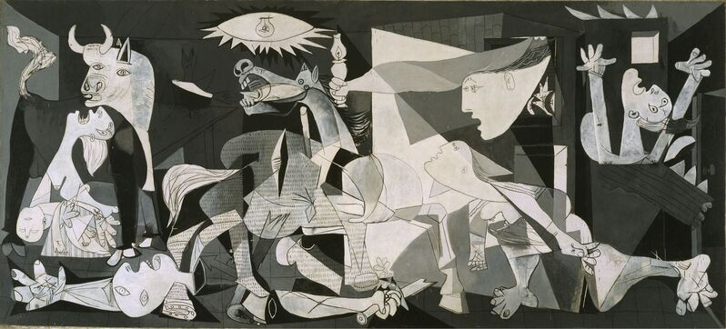 Pablo Picasso, 'Guernica', 1937, Painting, Oil on canvas, Museo Reina Sofía