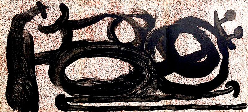 Joan Miró, 'abstract triptych ', 1967, Print, Velum paper, Modern-Originals