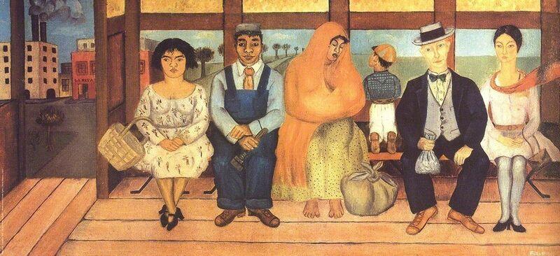 Frida Kahlo, 'L'Autobus', 2004, Posters, Offset Lithograph, ArtWise
