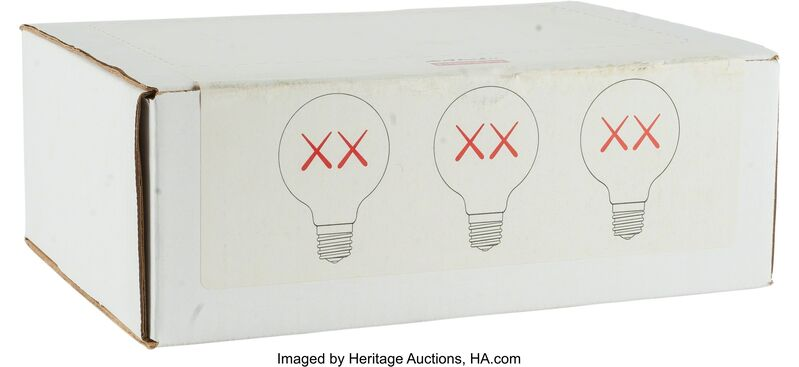 KAWS, 'Light Bulb Set for TheStandard(Red, Purple and Green)', Other, Heritage Auctions