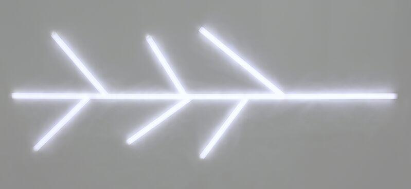 Rashed Al Shashai, 'Shortcut', 2015, Mixed Media, Acrylic and LED Lights, Hafez Gallery
