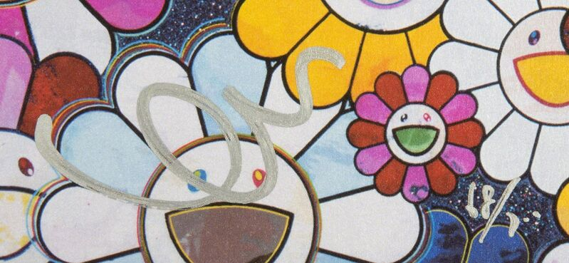 Takashi Murakami, 'Bouquet of Love', 2012, Print, Offset lithograph on paper, Julien's Auctions