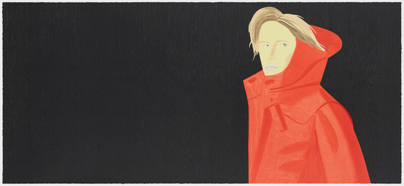 Alex Katz, 'Nicole', 2018, Print, Lithograph, woodcut, screenprint, Galerie Boisseree