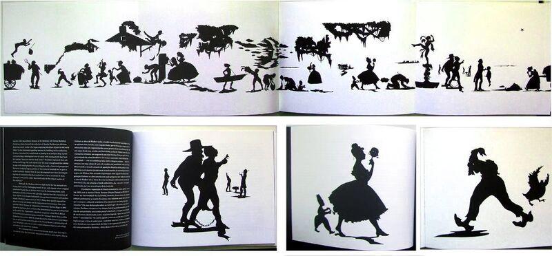 Kara Walker, 'Slavery! Slavery! (with SIGNED foldout)', 2001, Books and Portfolios, Paperback book, EHC Fine Art