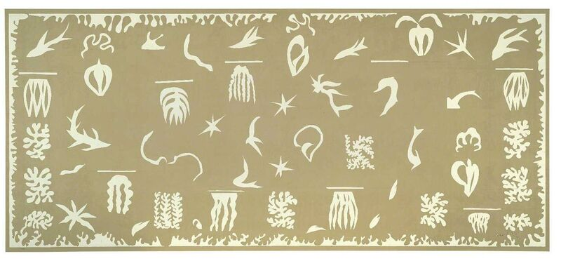Henri Matisse, 'Océanie, la mer (Oceania, the Sea)', 1946/47, Print, Screenprint on linen, Fondation Beyeler