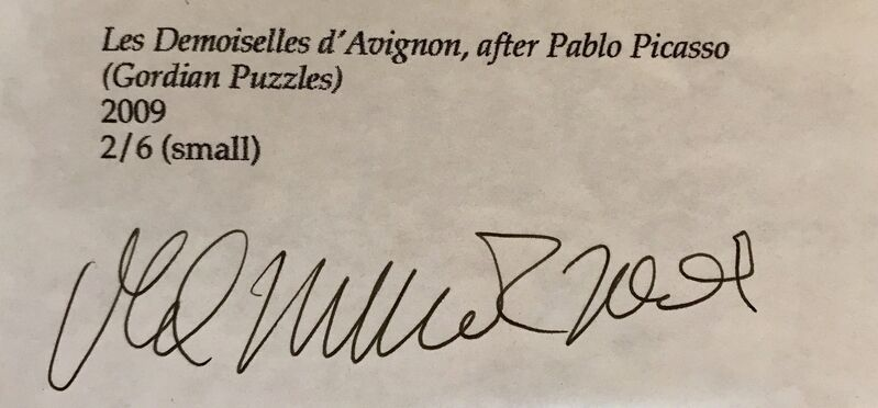 Vik Muniz, 'Les Demoiselles d'Avignon, after Pablo Picasso (Gordian Puzzles)', 2009, Mixed Media, Digital C print, Tazart