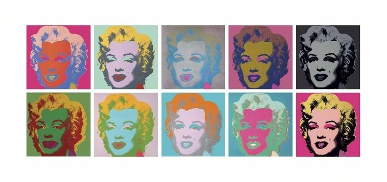 Andy Warhol, 'Marilyn Monroe (Marilyn)', Numbered silkscreen inks on paper, Christie's