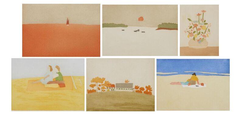 Alex Katz, 'Small Cuts (Portfolio of 6)', 2008, Print, Six aquatints in colors on Cartiere Magnani Corona paper, Artsy x Seoul Auction