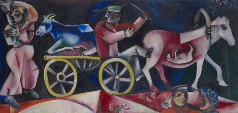 Marc Chagall, 'Le marchand de bestiaux', 1912, Kunstmuseum Basel