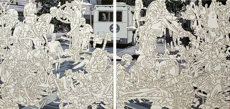 Kentaro Hiramatsu, 'C-2', 2013, Painting, Acrylic on canvas, Susan Eley Fine Art