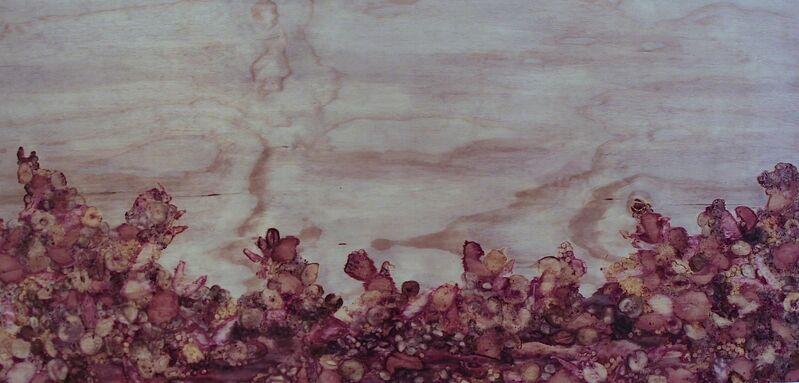 Enrico Ascoli Hilario Isola, 'Strawberry Field For Ever #2', 2018, Mixed Media, Rotten fruits on wood, Mario Mauroner Contemporary Art Salzburg-Vienna