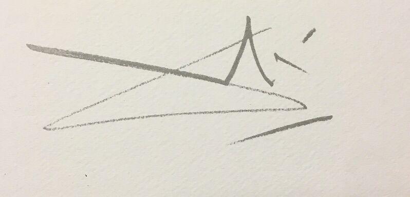 Salvador Dalí, 'Le Centurion', 1983, Print, Lithograph on Vélin d'Arches Paper, Art Lithographies