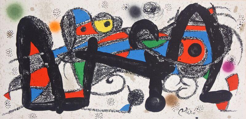 Joan Miró, 'Miró Escultor Portugal', 1974, Print, Lithograph, Hans den Hollander Prints