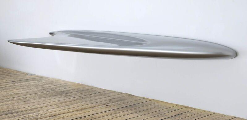 Zaha Hadid, 'Desk 'Dune 02'', 2007, Design/Decorative Art, Spray finished aluminium, David Gill Gallery