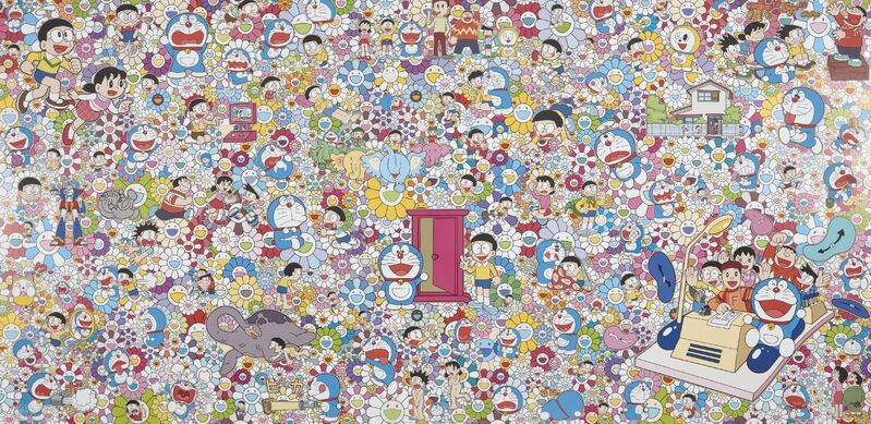 Takashi Murakami, 'Wouldn't it Be Nice If We Could Do Such a Thing', 2017, Print, Offset lithograph in colours on satin wove, Roseberys