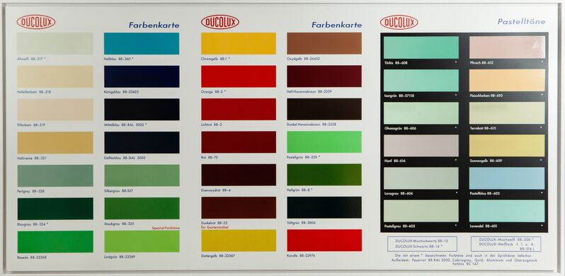 Damien Hirst, 'Colour Chart H2', 2017, Print, Spot-varnished giclée print mounted on aluminium composite panel, handsigned, numbered, Lougher Contemporary