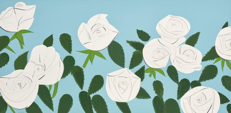Alex Katz, 'White Roses', 2014, Print, Screenprint in colours, on Museum Board, the full sheet., Phillips