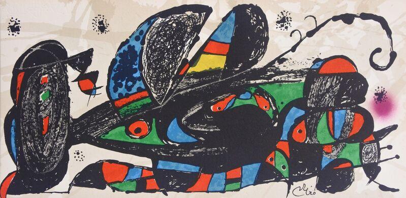 Joan Miró, 'Miró Escultor Iran', 1974, Print, Lithograph, Hans den Hollander Prints