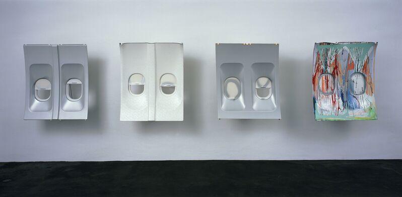 Isa Genzken, 'Da Vinci', 2003, Sculpture, 4 parts, lacquer on air plane windows, Stedelijk Museum Amsterdam