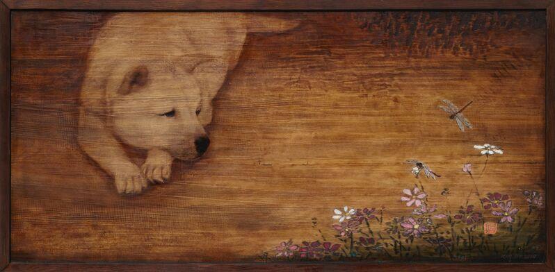 Kim Duck Yong, 'JieumII', 2014, Mixed Media, Mixed media on wood, Artflow
