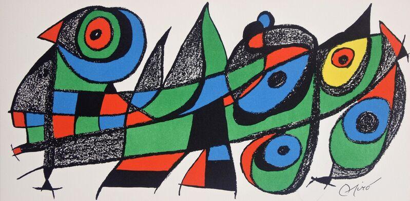 Joan Miró, 'Miró Escultor Japan', 1974, Print, Lithograph, Hans den Hollander Prints