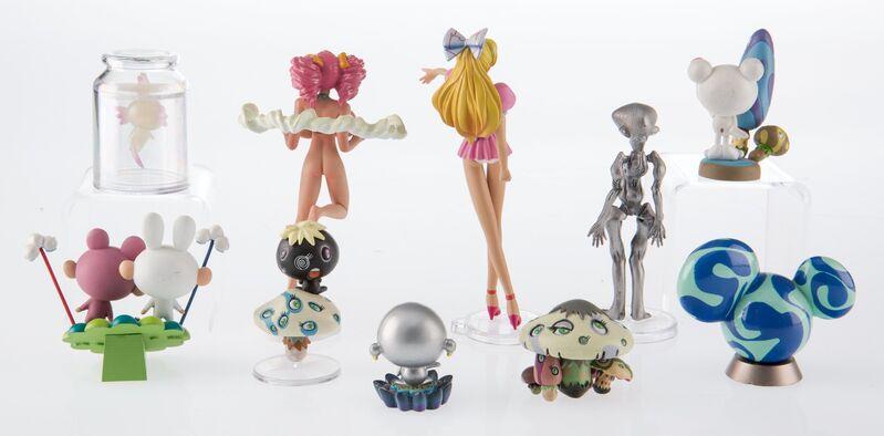 Takashi Murakami, 'Superflat Museum, (set of 10)', 2005, Sculpture, PVC figures, Heritage Auctions