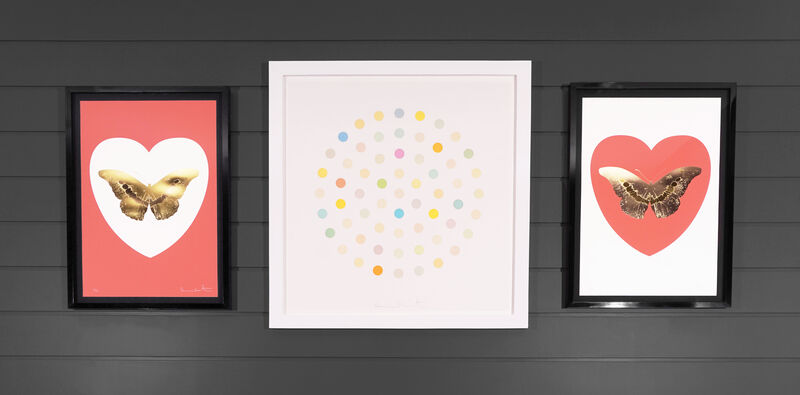 Damien Hirst, 'Pastel Spots Etching ', 2004, Print, Etching with Aquatint, Arton Contemporary