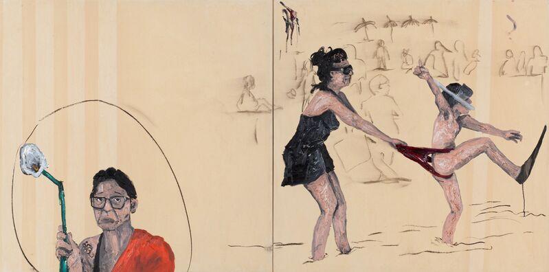 Camila Soato, 'Não se vá', 2013, Painting, Oil on canvas, Zipper Galeria