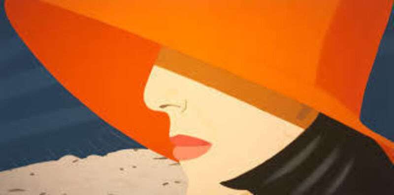 Alex Katz, 'Orange Hat', 1990, Print, Screenprint in Colors, Vertu Fine Art