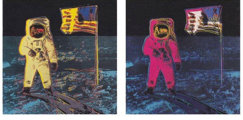Andy Warhol, 'Moonwalk', 1987, Print, Screenprint on Lenox Museum Board, David Benrimon Fine Art