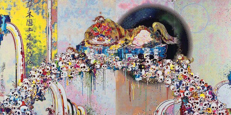 Takashi Murakami, 'As The Interdimensional Waves Run Through Me', 2012, Print, Off, Dope! Gallery