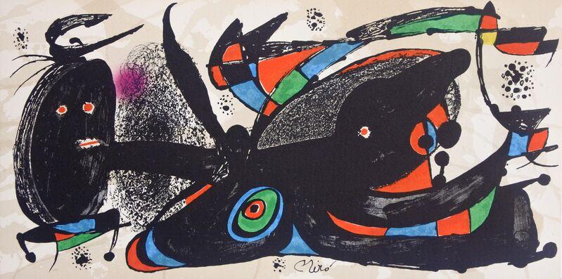 Joan Miró, 'Miró Escultor England', 1974, Print, Lithograph, Hans den Hollander Prints