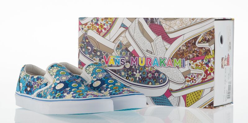 Takashi Murakami, 'Classic Slip-On LX (Flower) Blue', 2015, Fashion Design and Wearable Art, Pair of sneakers, Heritage Auctions