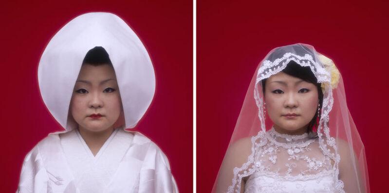 Tomoko Sawada, 'Bride (9 + 8)', 2007, Photography, Lambda prints, ROSEGALLERY