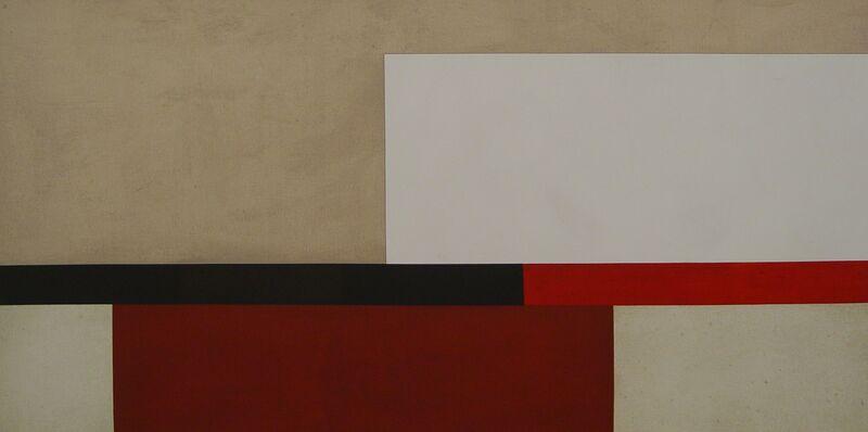Adolfo Estrada, 'Pintura 1209', 2012, Painting, Oil and collage on canvas, Ditesheim & Maffei Fine Art