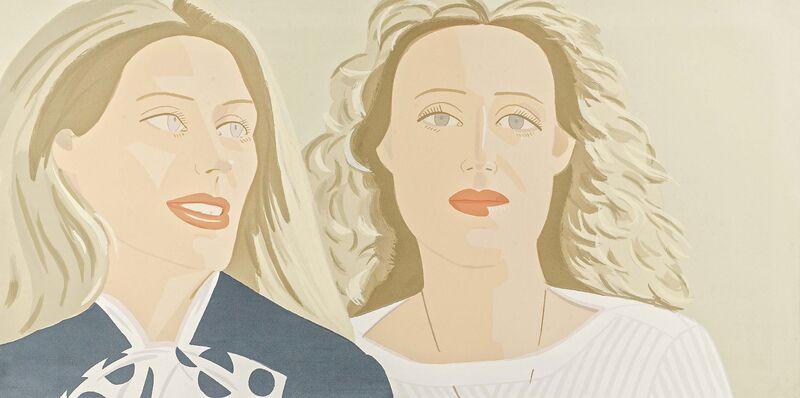 Alex Katz, 'Julia and Alexandra', 1983, Print, Silkscreen on Arches, Van Ham