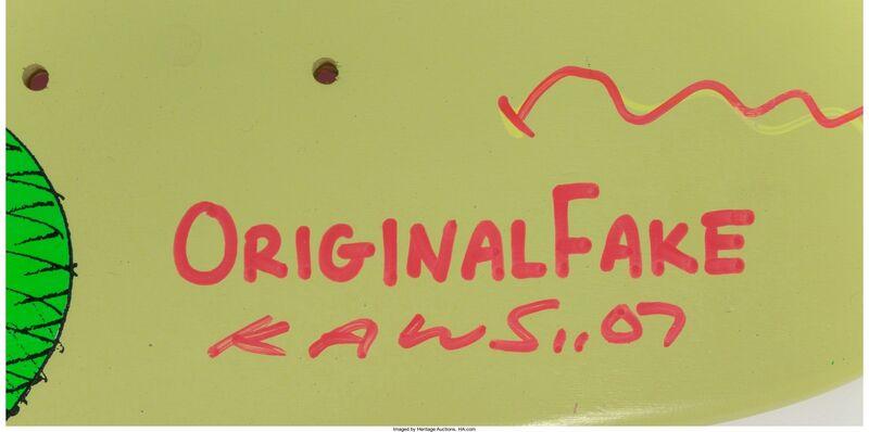 KAWS, 'Real Fake', 2007, Print, Screenprint on skate deck, Heritage Auctions